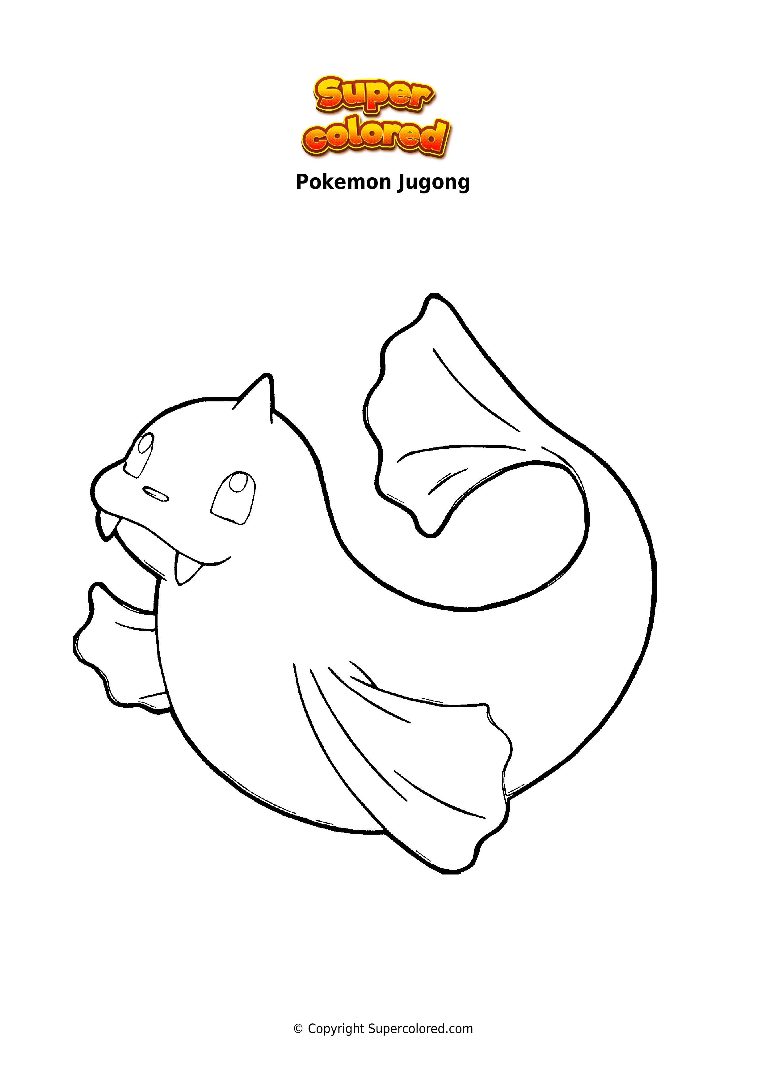 😼 Ausmalbilder - Pokemon - Supercolored
