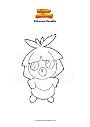 Ausmalbild Pokemon Kussilla