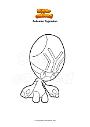 Ausmalbild Pokemon Pygraulon