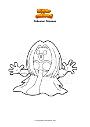 Ausmalbild Pokemon Rossana