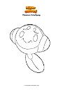 Ausmalbild Pokemon Schallquap