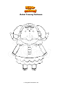 Coloriage Animal Crossing Cashmere