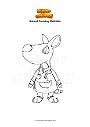 Coloriage Animal Crossing Mathilda