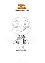 Coloriage Animal Crossing Piper