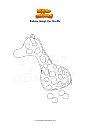 Coloriage Roblox Adopt Me Giraffe