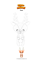 Coloring page Fawn