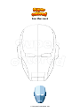 Coloring page Iron Man mask
