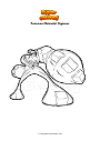 Coloring page Pokemon Melmetal Gigamax