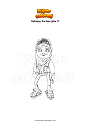 Coloring page Subway Surfers jake 2