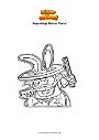 Coloring page Superzings Hatcus Pocus