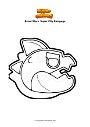 Dibujo para colorear Brawl Stars  Super City Rampage