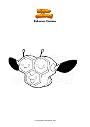 Dibujo para colorear Pokemon Combee