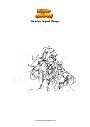 Disegno da colorare Genshin Impact Kaeya